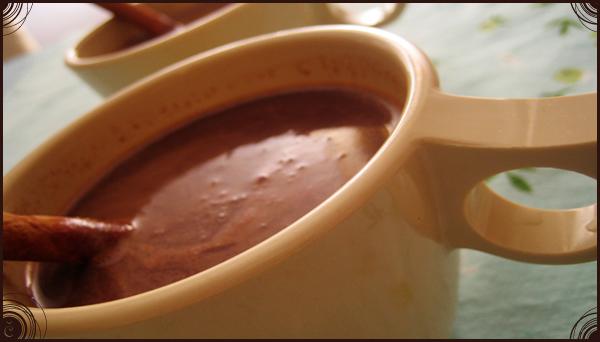 Sestavine za vročo čokolado in čokoladni fondi