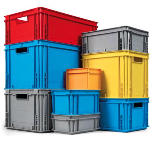 Ponudba kartonskih škatel in plastičnih zabojev